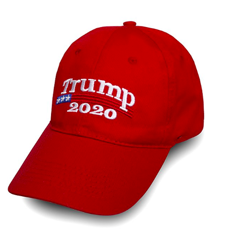 The Official 2020 President Donald J. Trump Hat - Red - Trumpshop.net