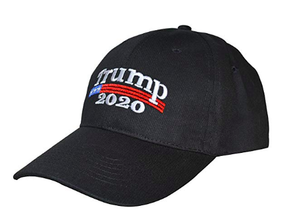 The 2020 President Donald J. Trump Hat - Black