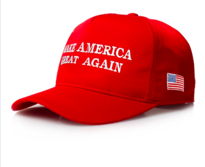 The 2016 President Donald J. Trump Make America Great Again - Red