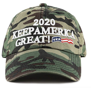 Camouflage 2020 President Donald Trump Keep America Great Hat - Camo
