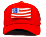 Trump USA Patch Detachable Embroidery Hat 45th President Campaign Baseball Cap - Trumpshop.net