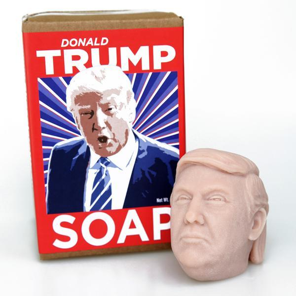 President Donald Trump Bar Soap Head - Trumpshop.net