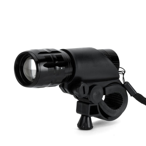 Bicyle Light - Durable Long Range Bicycle Front Torch Lamp + Holder