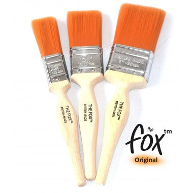 Fox paint brushes