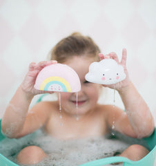 Buy the A Little Lovely Co Mini Cloud Bath Toy by A LITTLE LOVELY COMPANY from Me and Buddy