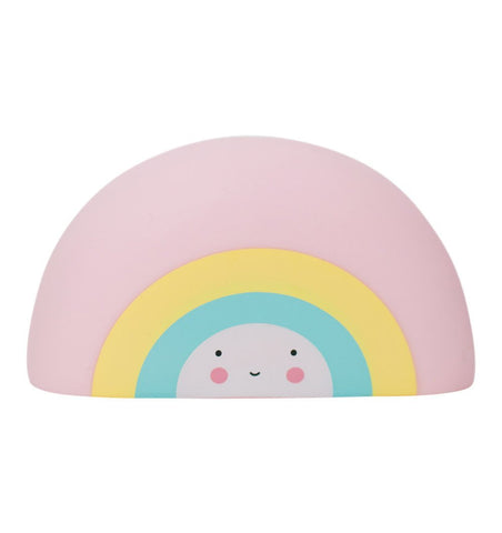 Buy the A Little Lovely Co Mini Rainbow Bath Toy by A LITTLE LOVELY COMPANY from Me and Buddy