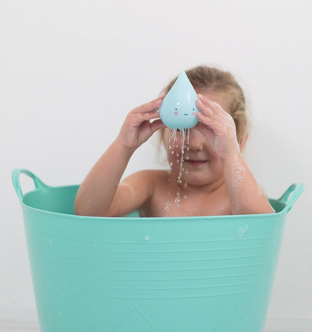 Buy the A Little Lovely Co Mini Raindrop Bath Toy by A LITTLE LOVELY COMPANY from Me and Buddy