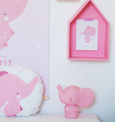 Buy the A Little Lovely Co Pink Elephant Money Box by A LITTLE LOVELY COMPANY from Me and Buddy