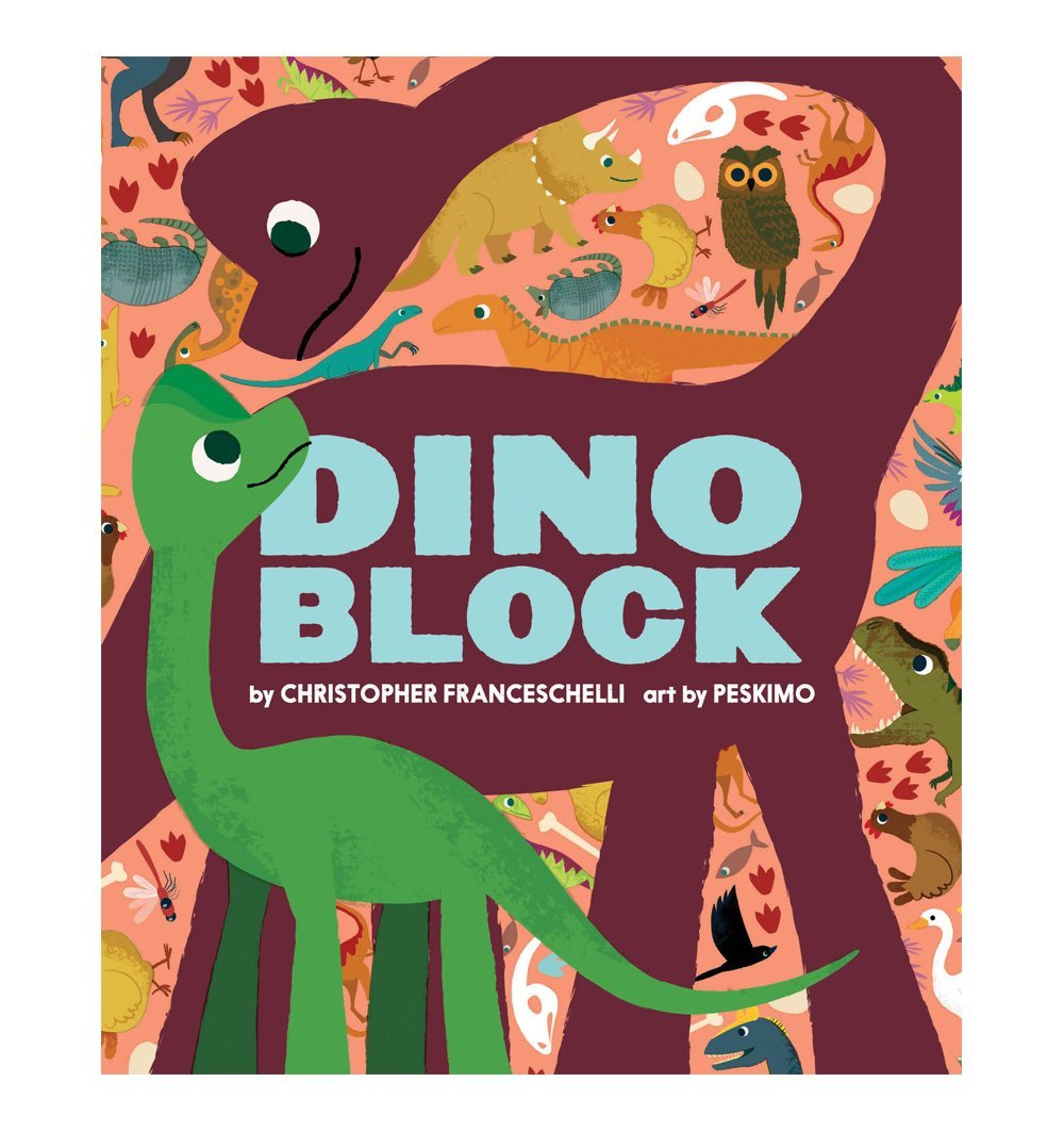 Buy the Dinoblock by Christopher Franceschelli by ABRAMS & CHRONICLE BOOKS from Me and Buddy
