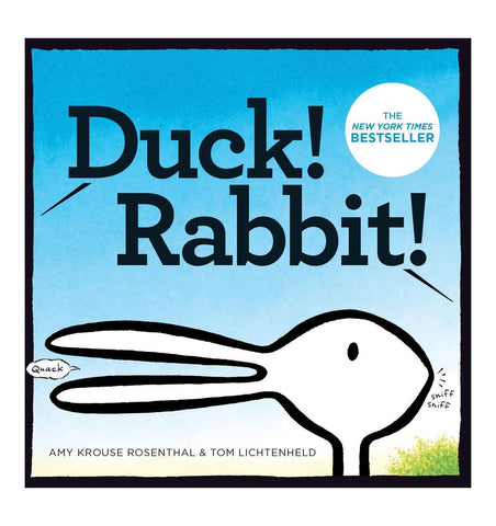 Buy the Duck! Rabbit! by Amy Krouse Rosenthal and Tom Lichtenheld by ABRAMS & CHRONICLE BOOKS from Me and Buddy