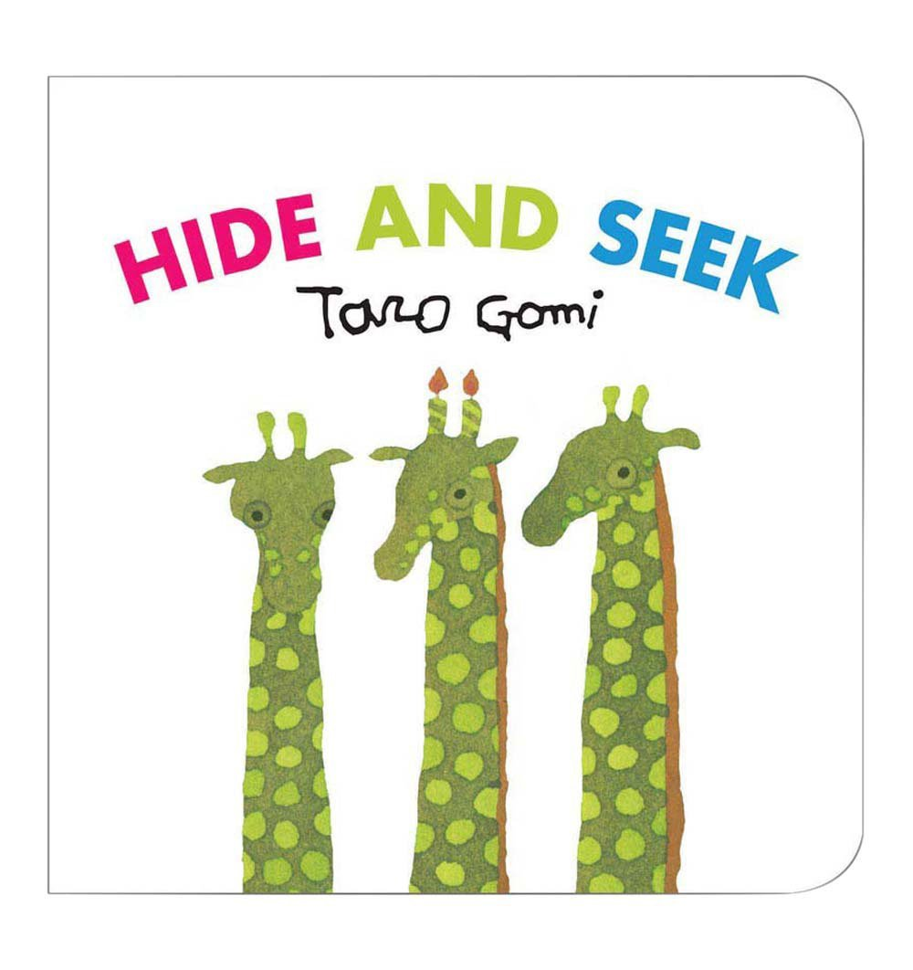 Buy the Hide and Seek by Taro Gomi by ABRAMS & CHRONICLE BOOKS from Me and Buddy