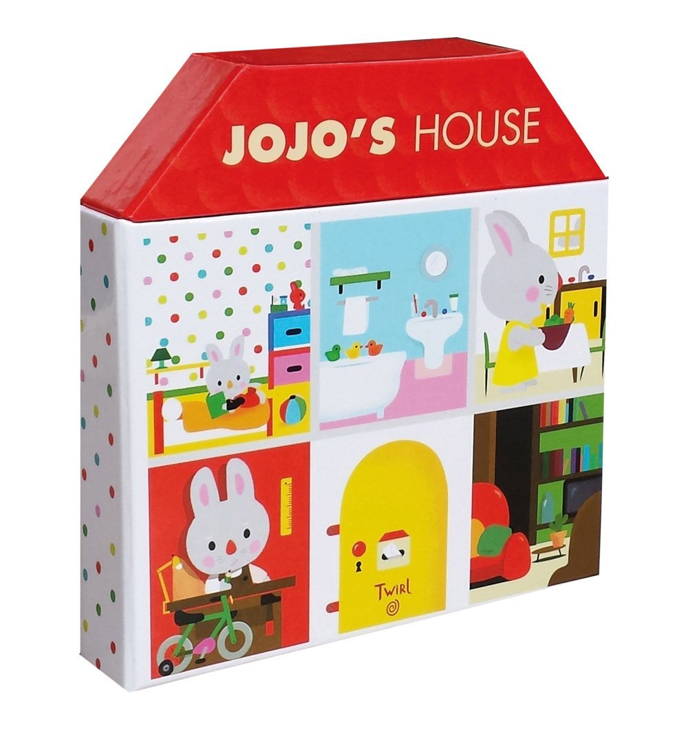Buy the Jojo's House by Xavier Deneux by ABRAMS & CHRONICLE BOOKS from Me and Buddy