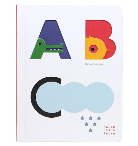 Buy the Touch Think Learn: ABC by Xavier Deneux by ABRAMS & CHRONICLE BOOKS from Me and Buddy