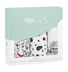 Buy the aden + anais Disney 101 Dalmatians Muslins 3-Pack by ADEN + ANAIS from Me and Buddy