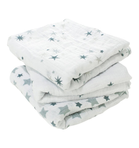 Buy the aden + anais Twinkle Musy - Muslin Squares 3-Pack by ADEN + ANAIS from Me and Buddy