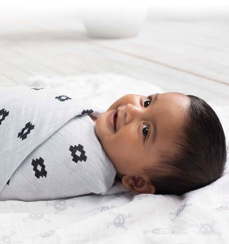 Buy the aden + anais Lovestruck Classic Swaddles 4-Pack by ADEN + ANAIS from Me and Buddy