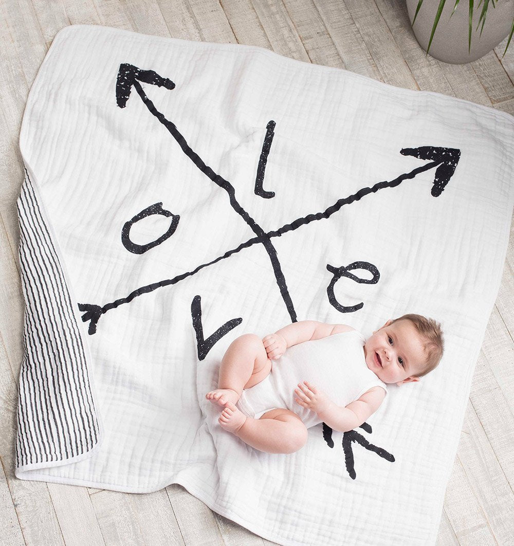 Buy the aden + anais Lovestruck Dream Blanket by ADEN + ANAIS from Me and Buddy