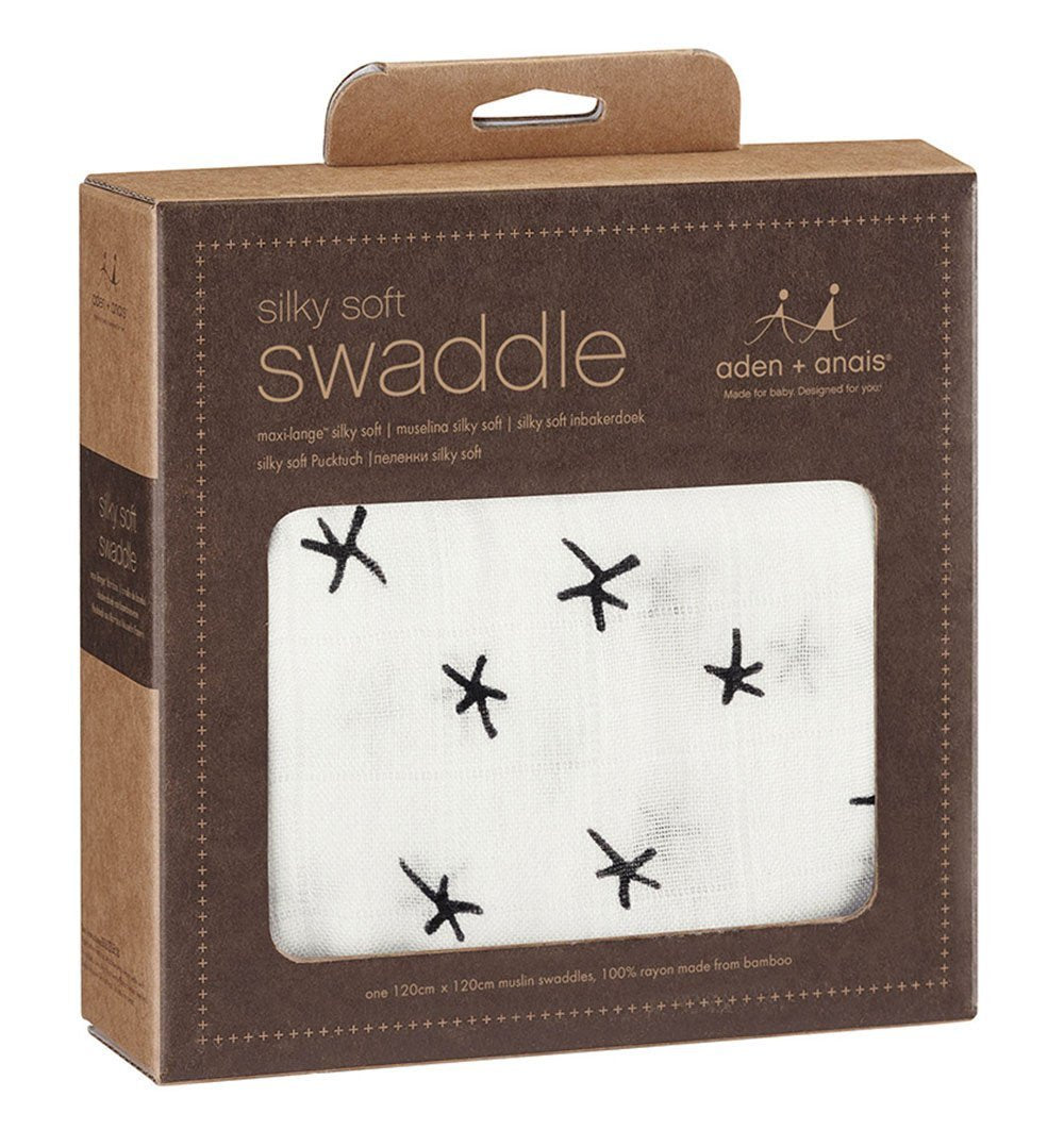 Buy the aden + anais Midnight Silky Soft Swaddle by ADEN + ANAIS from Me and Buddy