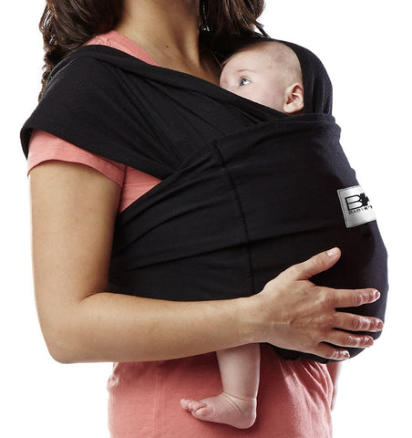 Buy the Baby K'Tan Classic Baby Carrier in Black by BABY K'TAN from Me and Buddy