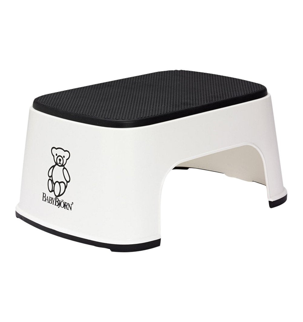 Buy the BabyBjorn Step Stool in White by BABYBJORN from Me and Buddy