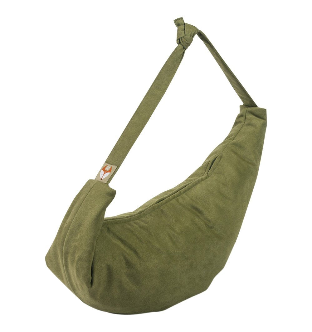 Buy the Changing Bag and Feeding Pillow in Olive Green by BAX & BAY from Me and Buddy