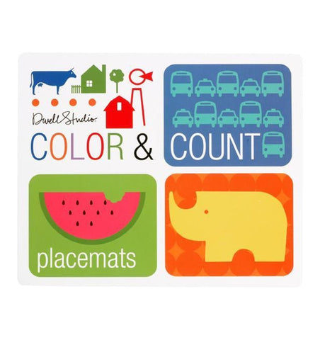 Buy the Color & Count Placemats by DwellStudio by BLUE APPLE BOOKS from Me and Buddy