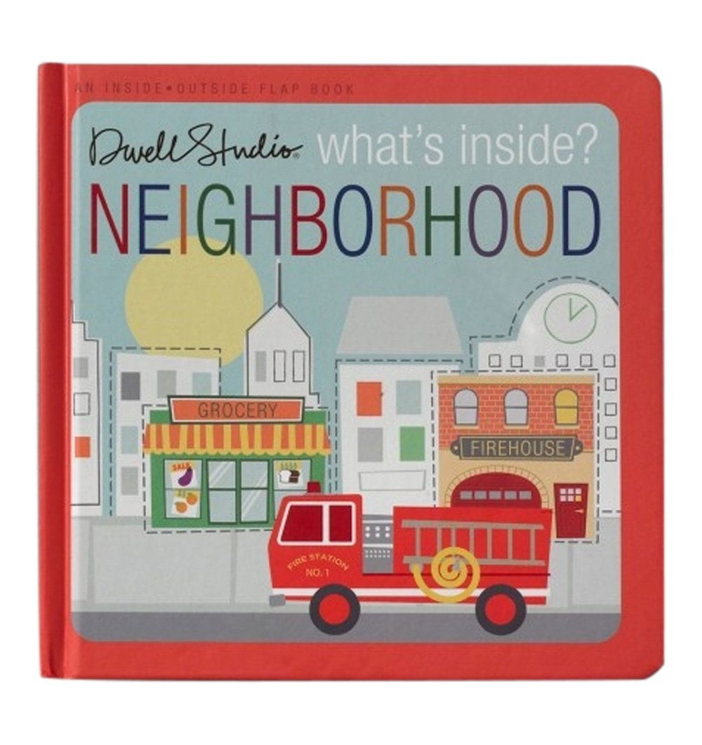 Buy the What's Inside? Neighborhood by DwellStudio by BLUE APPLE BOOKS from Me and Buddy