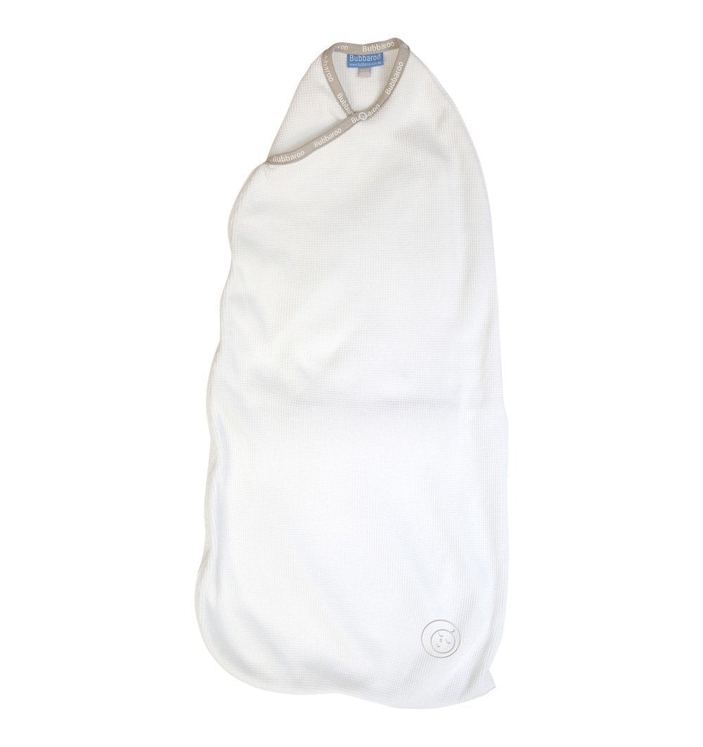 Buy the Bubbaroo Joey Pouch Swaddling Bag in White by BUBBAROO from Me and Buddy