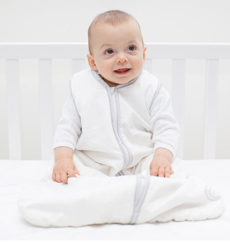 Buy the Bubbaroo Platinum 1.5 Tog Sleeping Bag in White by BUBBAROO from Me and Buddy