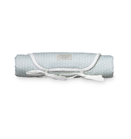 Buy the Cam Cam Changing Mat in Sashiko Mint by CAM CAM COPENHAGEN from Me and Buddy
