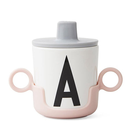 Buy the Design Letters Cup Handle in Pink by DESIGN LETTERS from Me and Buddy