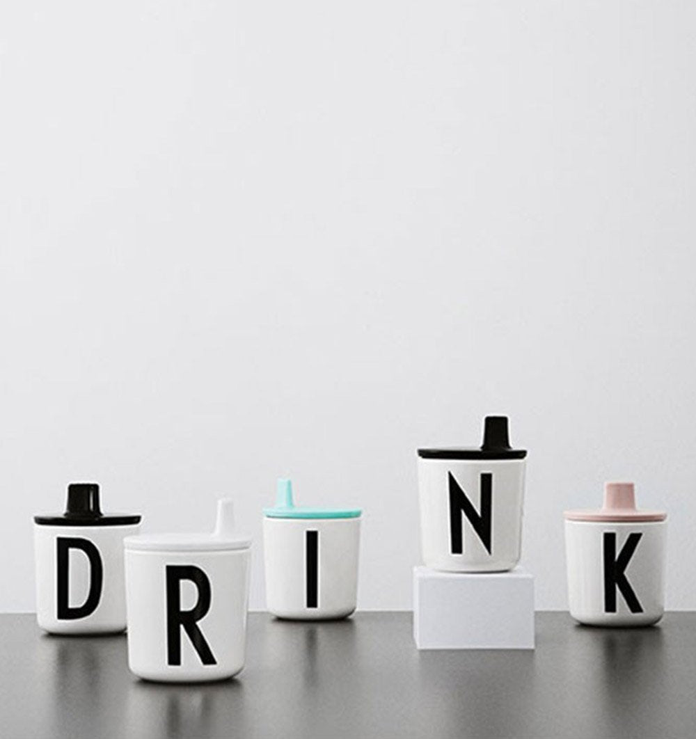 Buy the Design Letters Drinking Lid in Mint by DESIGN LETTERS from Me and Buddy