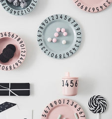 Buy the Design Letters Melamine Gift Set in Soft Pink by DESIGN LETTERS from Me and Buddy