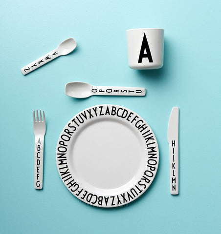 Buy the Design Letters Melamine Plate by DESIGN LETTERS from Me and Buddy