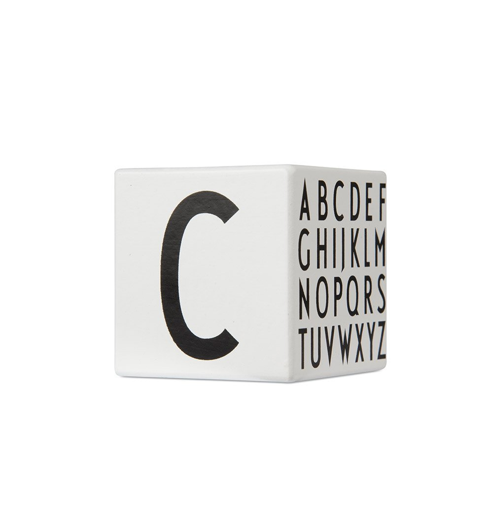 Buy the Design Letters Alphabet Wooden Cubes by DESIGN LETTERS from Me and Buddy