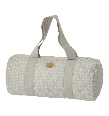 Buy the Duffel Bag in Grey Cross by FERM LIVING from Me and Buddy