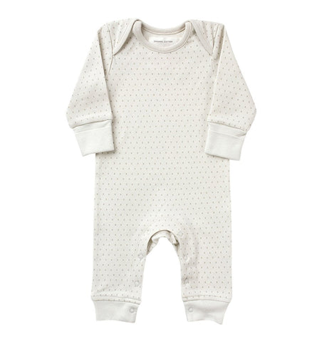Buy the Little Kisses Babygro in French Grey by FROM BABIES WITH LOVE from Me and Buddy