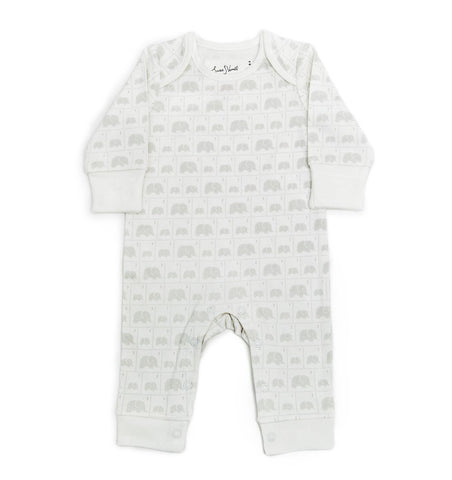 Buy the Susie J Verrill Elephant Family Babygro by FROM BABIES WITH LOVE from Me and Buddy