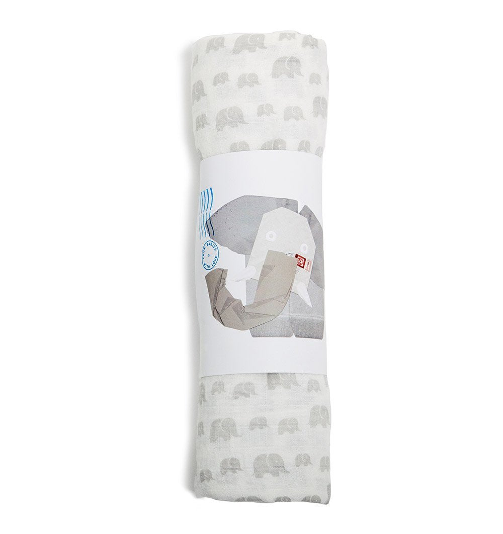 Buy the Susie J Verrill Elephant Family Jumbo Gift Pouch by FROM BABIES WITH LOVE from Me and Buddy