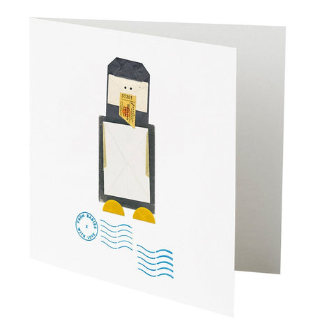 Buy the Penguin Greetings Card by FROM BABIES WITH LOVE from Me and Buddy