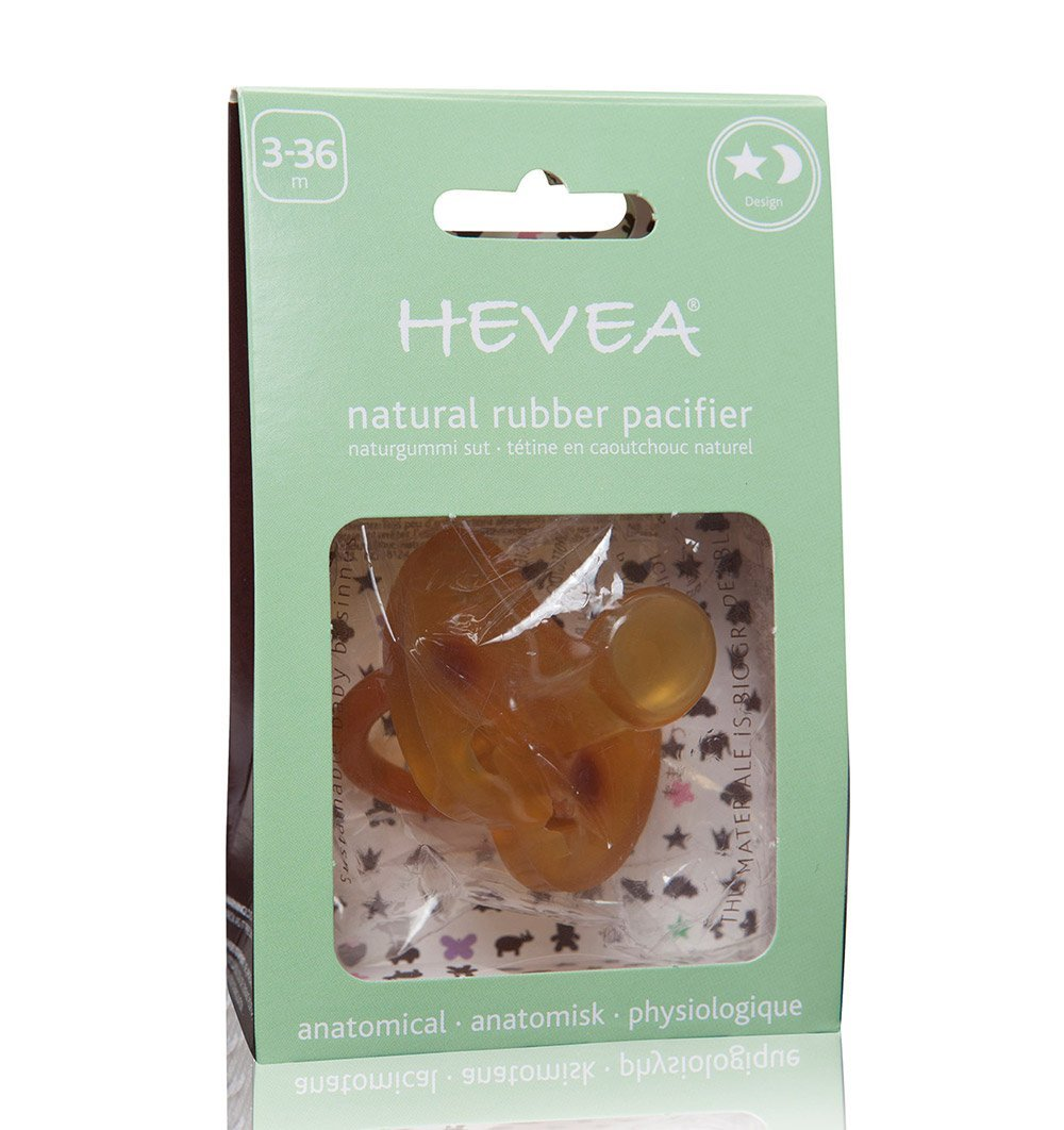 Buy the Hevea Star & Moon Soother by HEVEA from Me and Buddy