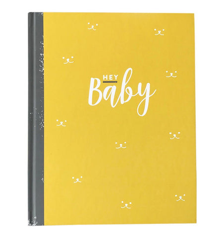 "Buy the ""Hey Baby"" Neutral Journal by ILLUSTRIES from Me and Buddy"