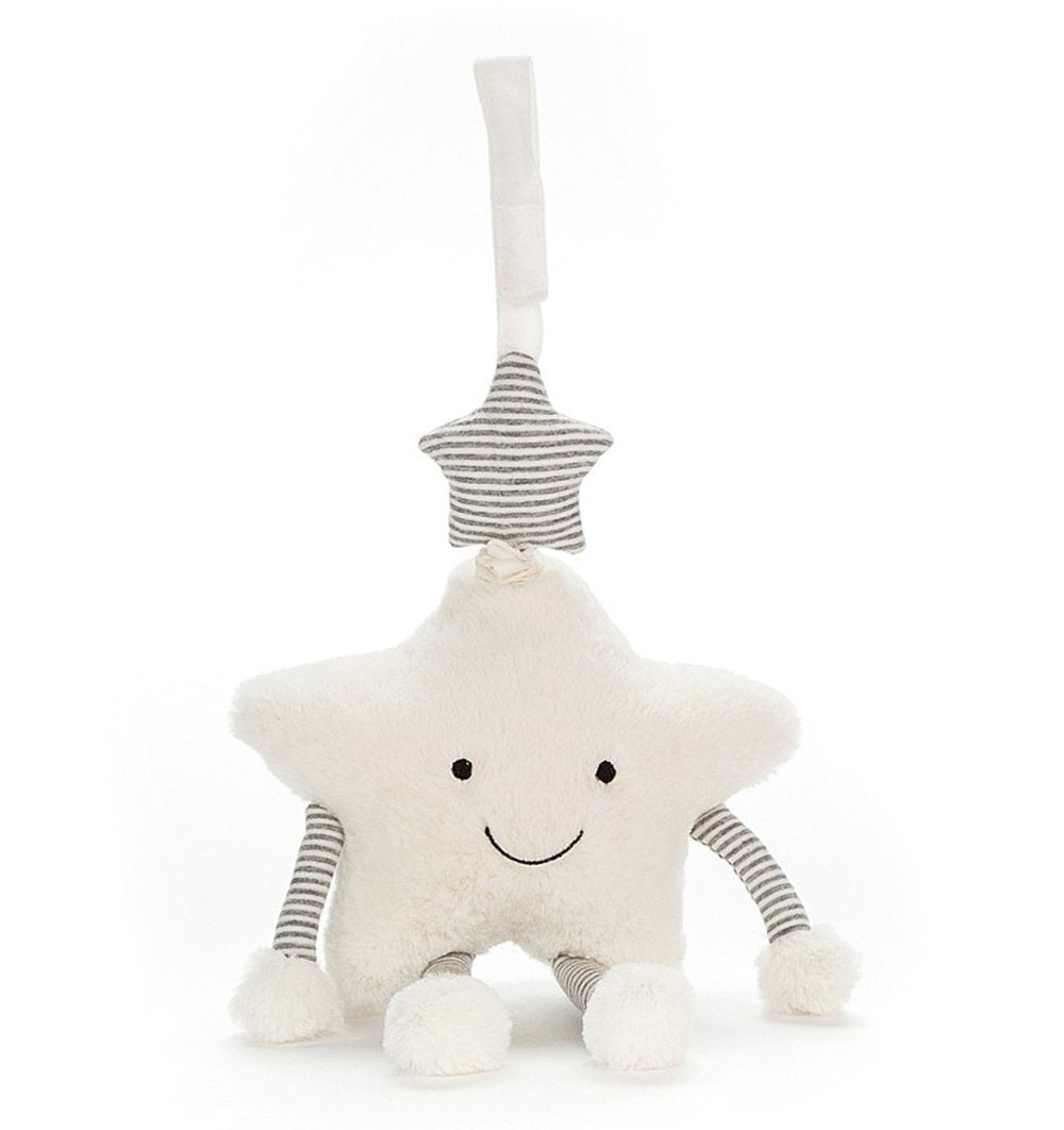 Buy the Jellycat Little Star Musical Pull Toy by JELLYCAT from Me and Buddy