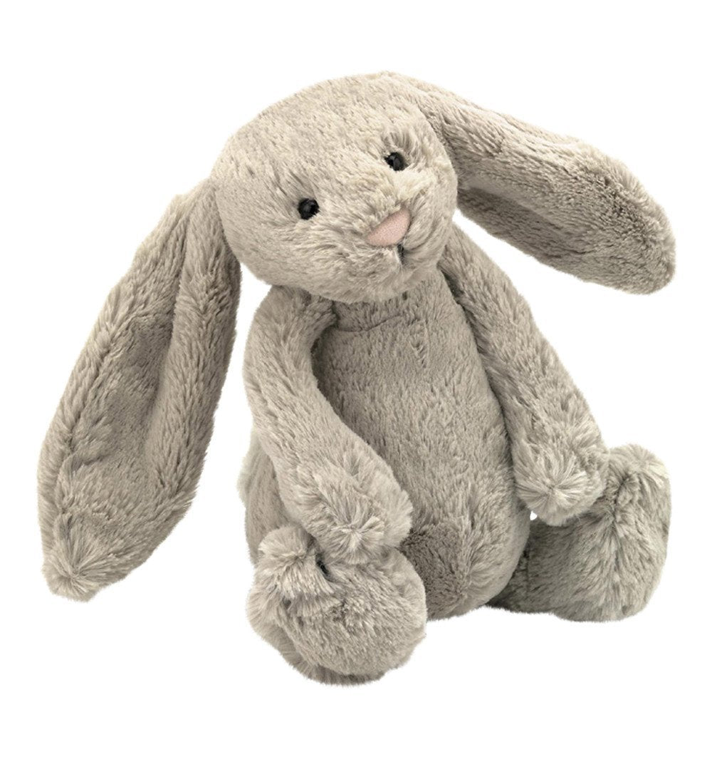 Buy the Jellycat Medium Beige Bashful Bunny by JELLYCAT from Me and Buddy
