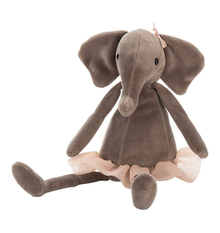 Buy the Jellycat Small Dancing Darcey Elephant by JELLYCAT from Me and Buddy