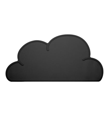 Buy the Cloud Placemat in Black by KG DESIGN from Me and Buddy