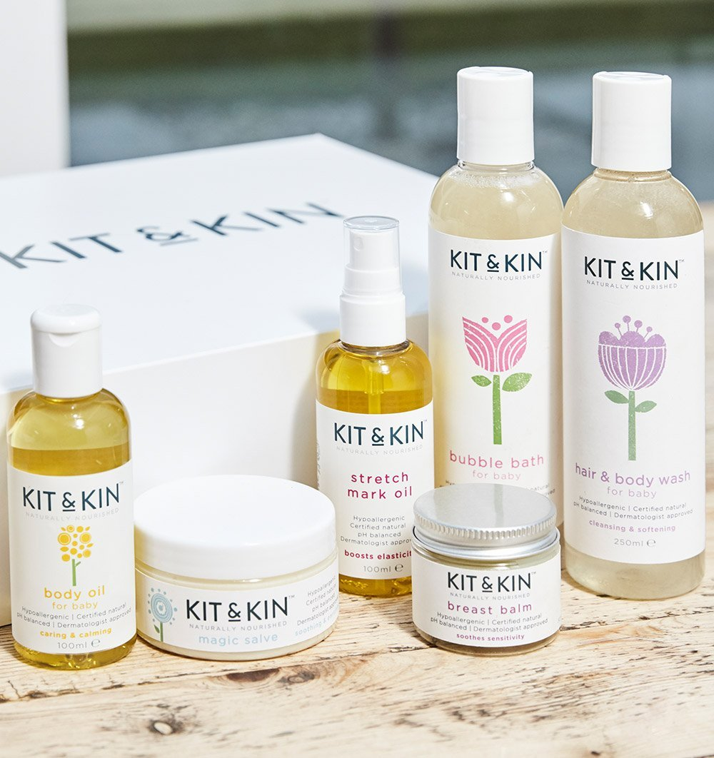 Buy the Kit and Kin Baby Oil by KIT & KIN from Me and Buddy