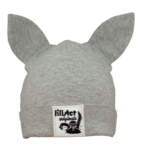 Buy the Bunny Beanie in Grey by LILLSTER from Me and Buddy