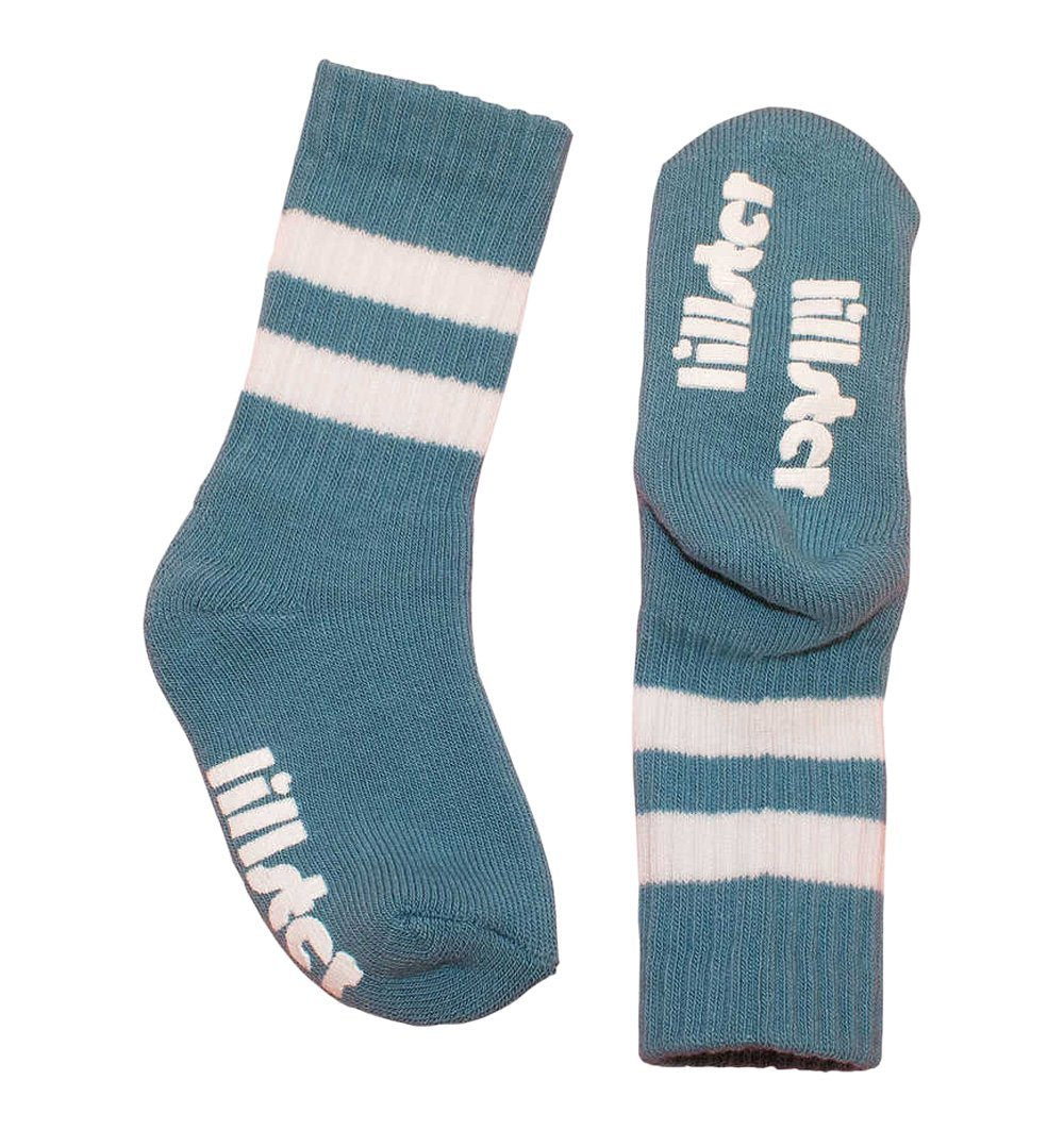 Buy the Tube Socks in Blue by LILLSTER from Me and Buddy