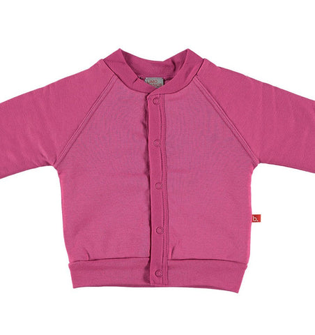Buy the Padded Jacket in Deep Pink by LIMOBASICS from Me and Buddy